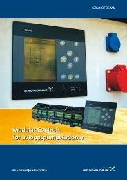 Modular Controls för avloppspumpstationer - Grundfos