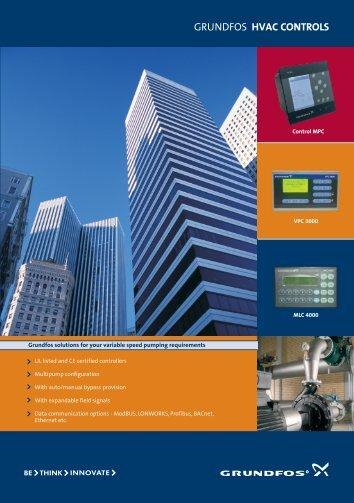 Grundfos hvac controls - Energy-efficient pumps for commercial ...