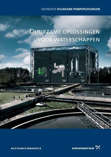 Duurzame oplossingen voor waterschappen - Grundfos