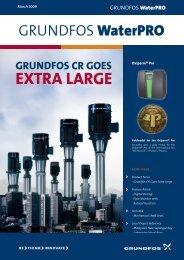 Grundfos CR goes extra large