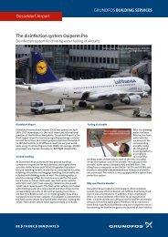 Düsseldorf Airport - Energy-efficient pumps for commercial buildings ...