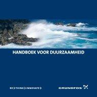 HANDBOEK VOOR DUURZAAMHEID - Energy-efficient pumps for ...