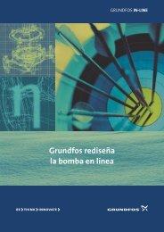 Grundfos rediseÏa la bomba en lÉnea