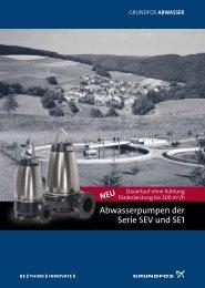 Abwasserpumpen der Serie SEV und SE1 - Grundfos
