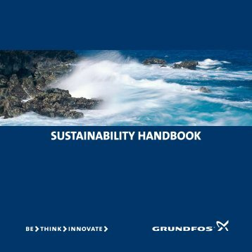 sustainability handbook - Energy-efficient pumps for commercial ...