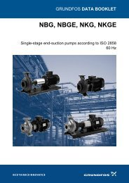 NBG, NBGE, NKG, NKGE - Energy-efficient pumps for commercial ...