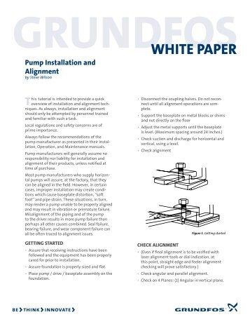WHITE PAPER - Grundfos