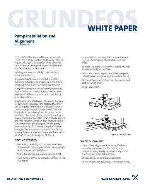 WHITE PAPER Grundfos