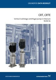 Grundfos data booklet - Energy-efficient pumps for commercial ...