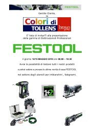 Materis Paint - Festool