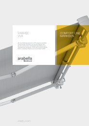COMFORT LINE MARKISEN Markise V!Va - Arabella