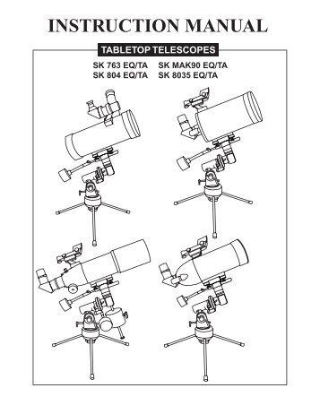 TABLETOP TELESCOPES - Sky-Watcher Telescope