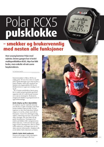 artikkelen fra Birkebeinermagasinet 07/2011 - Bern Hansen