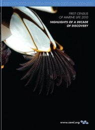 Highlights of a Decade of Discovery - Census of Marine Life