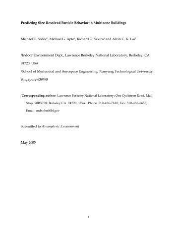LBNL-60227 - Environmental Energy Technologies Division ...