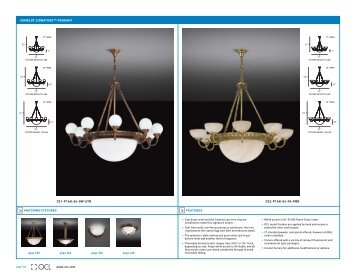 Ocl Camelot Signature Pendant - OCL Architectural Lighting