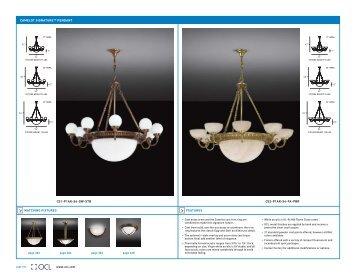 Ocl Camelot Signature Pendant - OCL Architectural Lighting