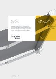 COMFORT LINE MARKISEN Markise V!Va plus - Arabella