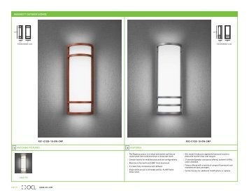 regency™ outdoor sconce - OCL Architectural Lighting