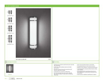 Allure - OCL Architectural Lighting