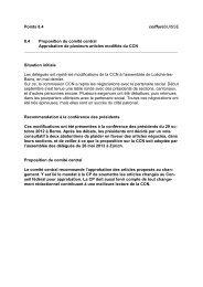 8.4 Proposition du comite central - Coiffure SUISSE