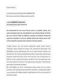 coiffureSUISSE Collection