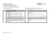 Neuer Vorschlag zu Änderungen im GAV - Coiffure SUISSE