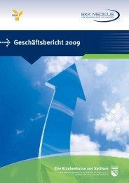 Geschäftsbericht 2009 - BKK Medicus