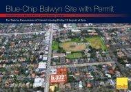 Blue-Chip Balwyn Site with Permit