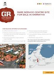 LAND3132-A4 Gap Ridge Sales Flyer.indd - LandCorp