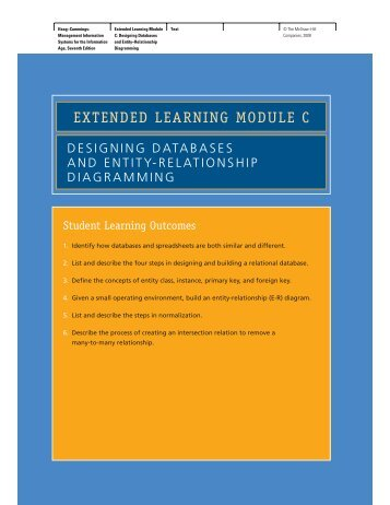 EXTENDED LEARNING MODULE C - McGraw-Hill Learning Solutions