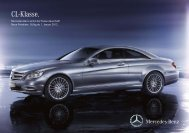 CL-Klasse. Mercedes-Benz Senkt Die Preise Dauerhaft! - Preislisten