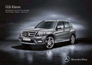 GLK-Klasse. Mercedes-Benz Senkt Die Preise Dauerhaft - Preislisten
