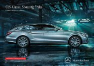 CLS-Klasse. Shooting Brake - Preislisten