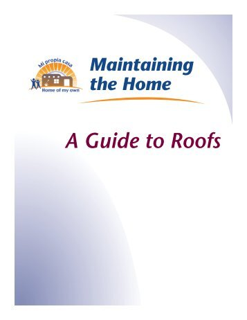 A Guide to Roofs - Home of My Own