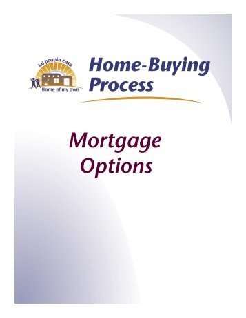 Mortgage Options - Home of My Own
