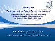 sommerlicher Wärmeschutz - Bundesverband Wintergarten eV