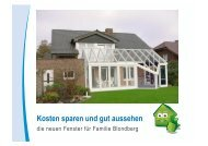 Angebotserarbeitung - Bundesverband Wintergarten eV