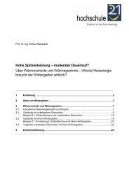 Hohe Spitzenleistung – moderater Dauerlauf? - Bundesverband ...