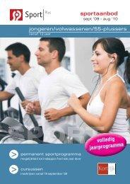 sportaanbod volledig jaarprogramma - Ba