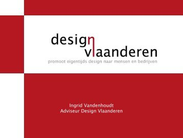 Ga naar de presentatie van Design Vlaanderen