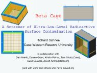 Surface event screening with Beta Cage - LRT2006