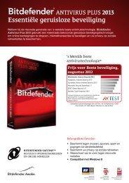 Essentiėle geruisloze beveiliging - BitDefender