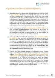 Ausgewählte Referenzen auf dem Gebiet der ... - aproxima