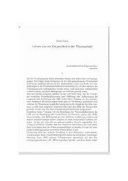 Lehren aus der Zeitgeschichte der Wissenschaft - edoc-Server der ...