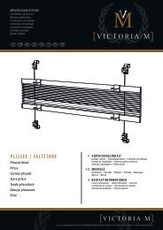VICTORIA M Easy-Plissees