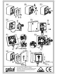MES-Schluesselschalter Beipackzettel Mikro Blatt 1 A4 2T Stand ...