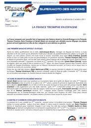 la France remporte le Supermoto des Nations - Mototribu