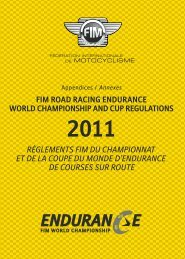 FIM ROAD RACING ENDURANCE WORLD ... - Mototribu