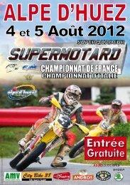 le programme de l'Alpe d'Huez 2012 - Mototribu